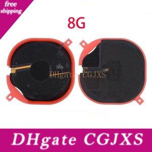 10pcs per Iphone 8 Plus X chip NFC wireless di carico del caricatore del pannello Coil Sticker Flex Cable Ribbon
