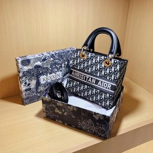 Hilo de bordado de celebridades en línea Dai Fei Mano pequeño Bagcrossbody Pequeño bolso para las mujeres 2020 Nuevo Bolso de mano elegante All-Match Fashion Avanzado