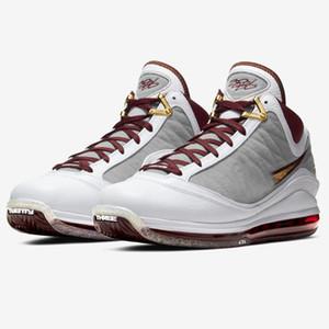 nuevos LeBrons baratas 7 VII LBJ7 QS MVP Lakers CTK Fairfax All Star Alfombra roja para hombre de los zapatos de baloncesto zapatillas de deporte para la venta jamesi tienda de zapatos tenis