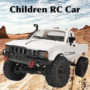 WPL C24-1 모델 장난감 원격 제어 전기 등산 차량 픽업 4WD RC 자동차