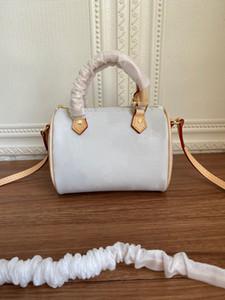 La bolsa de asas nano Speedy bolsos de hombro de la cadena bolsas crossbody bolsos de las mujeres bolsos de cuero de buena calidad clásicos de mujer de diseño de la venta caliente mini-bolsas