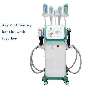 En Yeni yağ donma makinesi kavitasyon rf LipolaseR fonksiyonlu cryo zayıflama en etkili yağ donma cryolipolysis makinesi