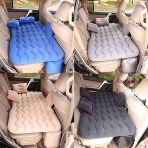 Voiture Voyage Bed Air Matelas gonflable Canapé auto banquette arrière Sofa oreiller extérieur Camping Mat Coussin universel pour camion SUV