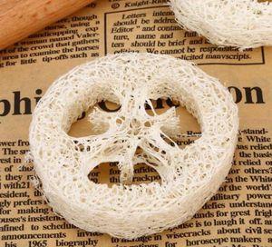 300 unids Loofah Natural Loofah Cubiertas Hechas a mano DIY Loofah Herramientas de jabón Cleaner Sponge Scrubber Soporte de jabón facial