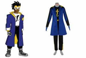 Traje de Cosplay Static Shock 2 Cosplay estática de Halloween Cosplay Carnial