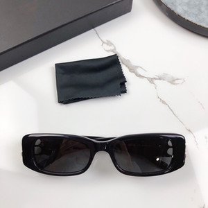 Women Sunglasses 0096 Butterfly Frame Rimless Glasses UV400 Protection Top Quality Noble Style Eyewear With Case