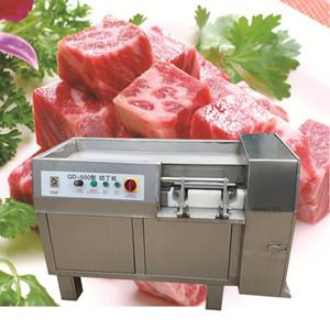 38 Высокой производительность промышленной свежемороженое мяса резак мясо кубик резка мяса Dicer машина для продажи