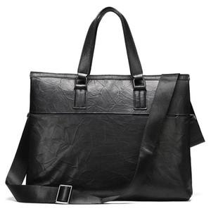High Quality Genuine Leather Briefcase Men Bag Business Handbag Male Laptop Shoulder Bags Tote Natural Skin Men Briefcase