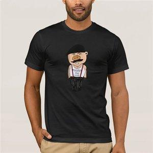 2020 manga corta Duyou Nueva camiseta de los hombres de moda del cerdo ropa 2020 Imprimir camiseta