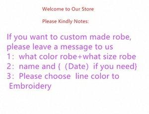 robes de conception de la personnalité Jrmissli personnalisés demoiselles d'honneur et un peignoir de mariage mariée pour les robes de soie des vêtements de nuit des femmes Y200425 RgyN #