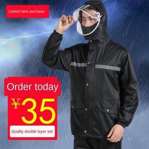 8cAqg vDpJz Invia impermeabile ed estivi piloti tuta temporale Prevenzione Summer Rain sottile pioggia set Motociclo giorno ansima per veicoli elettrici