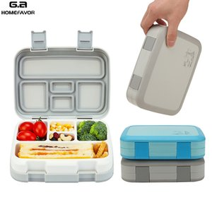 2 or 1 Pcs Lunch Box For Kids Food Containers Microwavable Bento Snack Box Cartoon School Waterproof Storage Box Cl200920