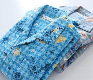 Yeni sonbahar dijital kış butik çocuk takım elbise pijama erkek karikatür pijama Digital ve flanel pamuk ev giyim L7blX baskılı ekose