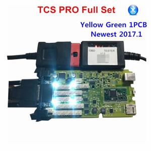 Plus récent OBDIICAT TCS 2020.1 jaune vert monocarte + générique 3in1 TCS nouveaux relais Bluetooth 2020,00 Scanner outil de diagnostic