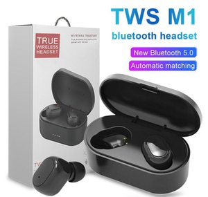 Cgjxsm1 Tws Bluetooth 5 .0 Sports Stereo Wireless Bluetooth Headphones Earphones Colorful Wireless Headset Earbuds Hot Sale 20x Dhl