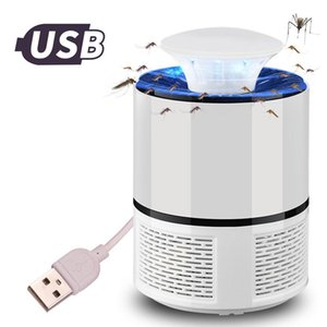 Cgjxsmosquito Killer Usb Electric Mosquito Killer Lamp Photocatalysis Mute Home Led Bug Zapper Insect Trap Radiationless