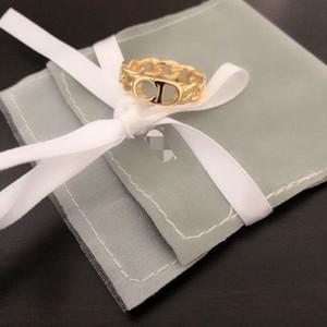 bijoux explosion concepteur chaîne CD classique de luxe de concepteur femmes bijoux bague