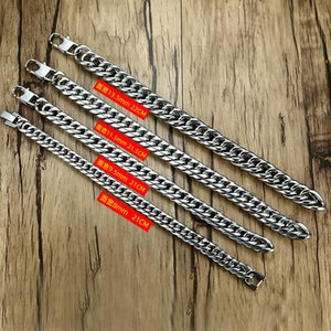 Hip Hop Fashion Stainless Steel Men Bracelet Chain Link Tennis Chain Cubin Link 2020 Body Jewelry Wholesale