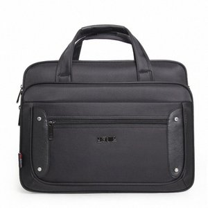Mens Large Capacity Business Briefcase Male Handbags Laptop Bags 17 Inches Oxford Crossbody Travel Homme Bag mFO3#