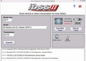 Para Isuzu IDSS II 2017 Isuzu Diagnostic System Service + Licença para muitos PC BSzz #