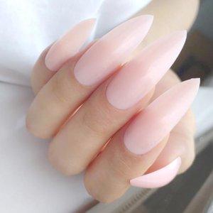 Faux Nails 24 pcs mat brun foncé brun artificiel faux ongle long queue de doigt pour design dame doigts outils de manucure