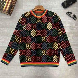 (20) 남성 스웨터 여성의 까마귀 힙합 패션 미국 인쇄 재킷 고품질 숙녀 외부 자막 벚꽃 자수 S-XX