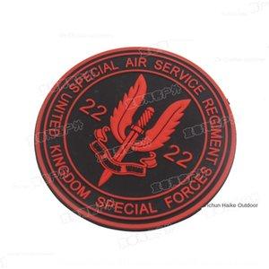 British 22nd Special aircrew SAS hook and Medium clothing badge loop armband Special Air Service glue dripping badge