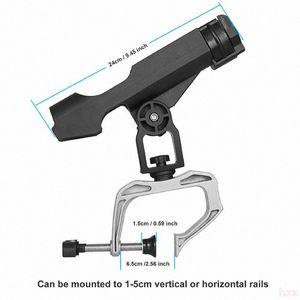 Nuovo Fishing Boat Rod Rod Reel Combo Fishings Holder rotazione di 360 gradi regolabile Power Lock pesca Holder Rod rack pieghevole con La ySce #