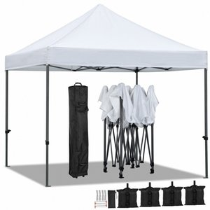 Canopy Partido UP Pop Commercial 10x10' Tent Folding Waterproof Gazebo Outdoor BvAW #