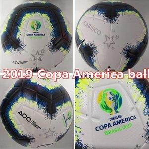Sıcak Satış 2019 Copa America futbol topu Final KYIV PU boyut 5 topları kaymaz futbol Ücretsiz yüksek kaliteli topu nakliye granülleri