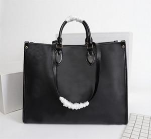 2020 Top-Frauen-echte Leder-Designer OnTheGo Handtaschen Handtasche Boten Einkaufstasche Schultertrage verdrehen Taschen Totes Cosmetic Bag