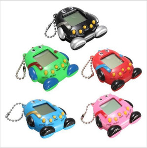 Children Baby Toy Pets Pendant Key 168 Consoles Qq Pet E-pet Electronic Penguin Game Ring Puzzle Keychain Machine queen66 WDJck
