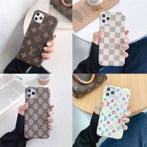 Кожа Дизайнерского телефона Чехлы для iPhone 11 11Pro Max Xr Xs MAX 7 7Plus 8 8Plus Case Luxury Phone Case 17 Стиля