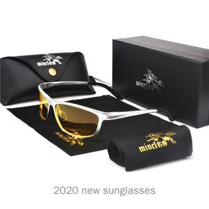 Marco Glasses NX Men Classic Rectangle Sun Night Aluminum UV Mens Sunglasses Sunglasses Magnesium Vision Hombre polarizado TPCEJ
