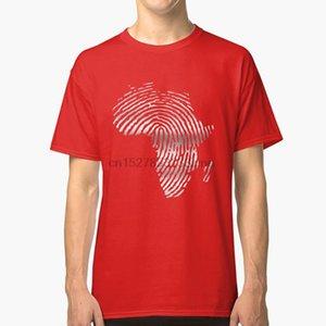 África Camiseta de África Continente Negro Dna Camerún Francia Rap dedo