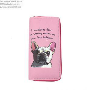 Jirui Equipaje PUG Cosmetic Cosmetic Wallet Passport Wallet monedero bolso bolso Pasaporte Bolsa Fuerza