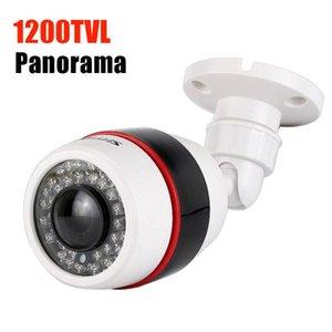 Обзорный Аналоговые камеры Открытый водонепроницаемый 1200tvl 1.7mm Рыбий широкоугольный CCTV камеры 700TVL видеонаблюдения CAM