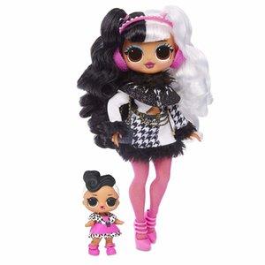 L.O.L. Sürpriz! AMAN TANRIM. Kış Disko Dollie Moda Doll Kardeş Kız Oyuncak T200209