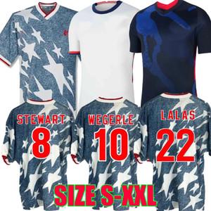 4 stelle 1994 World Cup Stati Uniti retrò calcio maglie PULISIC 2020 2021 Wegerle Lalas 94 20 21 donne degli SUA UOMO BAMBINO maglie da calcio