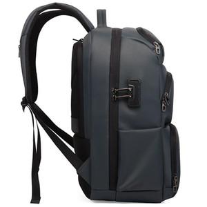 New-Men Durable АНТИ Кража путешествий Ноутбуки Рюкзак с USB зарядный порт водостойкой