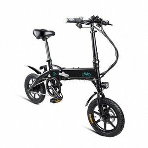 (De la UE!) 25km Youpin FIIDO D1 eléctrica plegable bici del ciclomotor de tres formas de conducción 10.4AH Ebike 250W Motor / h 25-40KM Electric Range Bicycl qSM9 #