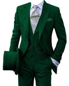 Мужские костюмы Blazers Men 'Wedding Blackers для костюма 3 шт. Blazer Fiest Teousers и одна кнопка GR.S M L XL XXL XXXL XXXXL XXXXXL