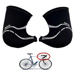 Antivento Strada Manubrio Covers La bicicletta di riciclaggio guanti caldi bici dita piene Guanti invernali MTB antipioggia
