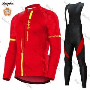 Ralvpha Kış Termal Polar Bisiklet Jersey Seti 2020 Yarış Bisikleti Bisiklet Suits Mountian Bisiklet Giyim Ropa Ciclismo dlrw #