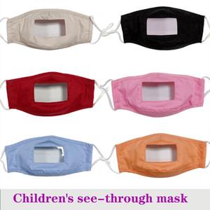 RÉUTILISATION lèvres FREE DHL MASQUES écran facial masque facial mascarilla voir-à travers le masque, un masque anti-poussière, enfant adulte masque masque transparent coton-muet sourd