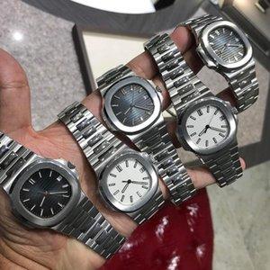 9 Art Art und Weise Qualitäts GMT Uhr Classic 40mm PP Nautilus 5711 / 1A 010 Transparent Herren Mechanische Automatik Herren Herren Watc L8sN #
