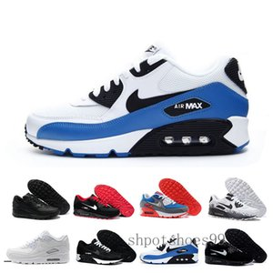High Quality Air Cushion 90 Casual Running Shoes Cheap Black White Red 90 Men Women Sneakers Classic Air90 Trainer Outdoor Sports ShoeGF3SX