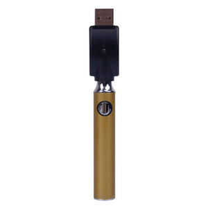 Metrix ön ısıtma kabarcıklı pil 650 mAh ön ısıtma değişken voltaj piller VV USB şarj vape kalem kiti için 510 iplik kartuşu