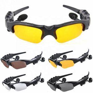 الجملة الذكية بلوتوث النظارات الشمسية المستقطبة نظارات محمول بلوتوث اللاسلكية سماعة الميكروفون الرياضة النظارات الشمسية