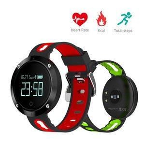 Давление cgjxs Cgjxs Смарт диапазона сердечного ритма крови Браслет Водонепроницаемый IP67 Фитнес Tracker спортивные часы Dm58 Smartband для Iphone 7 Samsung X